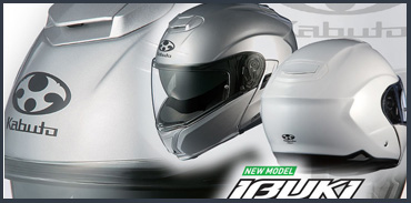 Kabuto Ibuki flip-up helmet